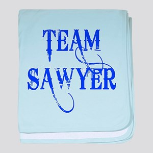 TEAM SAWYER from LOST TV baby blanket
