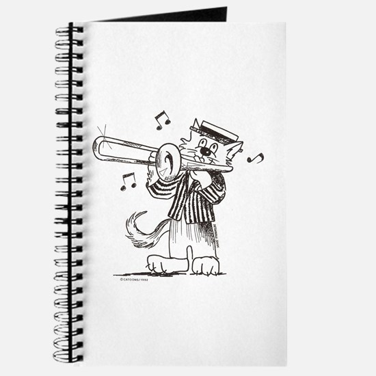 Catoons™ Trombone Cat Journal