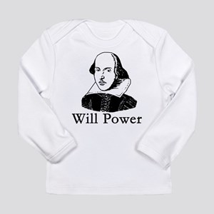 willpower3 Long Sleeve T-Shirt