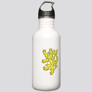 Heraldic Gold Lion Stainless Water Bottle 1.0L