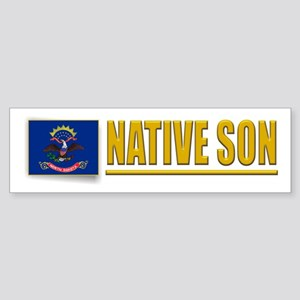 North Dakota Native Son Bumpersticker