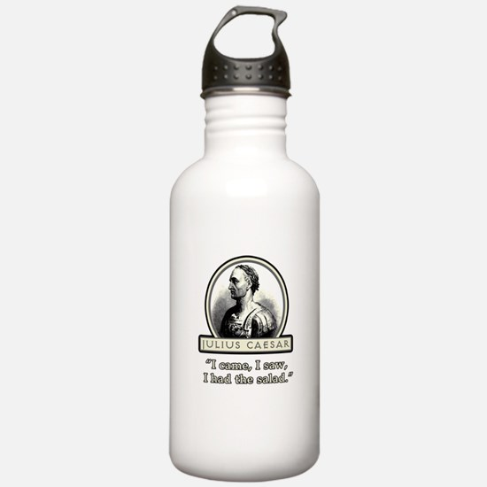 Funny Julius Caesar Salad Water Bottle