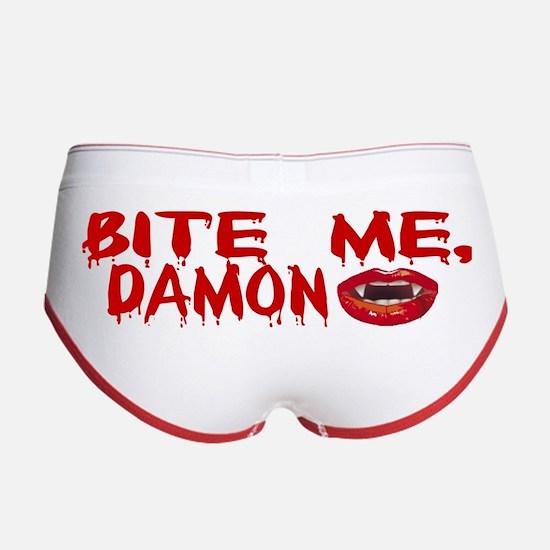 Bite Me Damon Women's Boy Brief