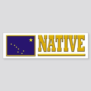 Alaska Native Sticker (Bumper)
