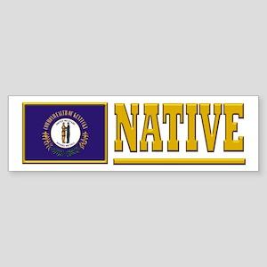 Kentucky Native Sticker (Bumper)