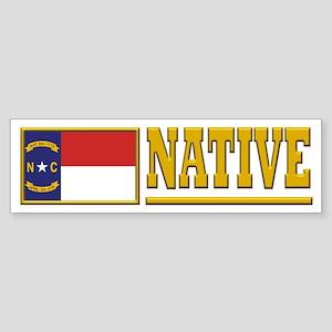 North Carolina Native Bumpersticker