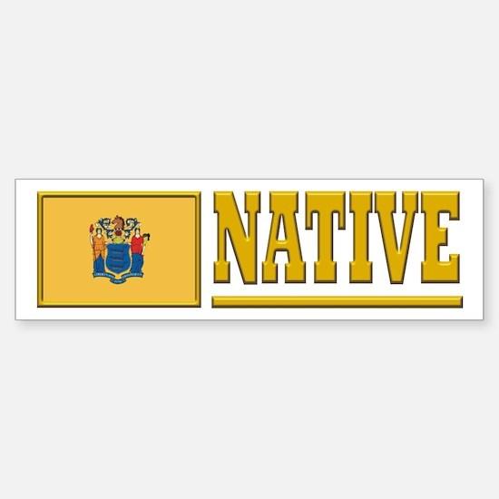 New Jersey Native Bumpersticker