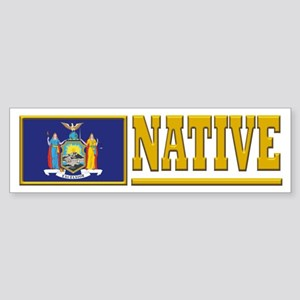 New York Native Bumpersticker