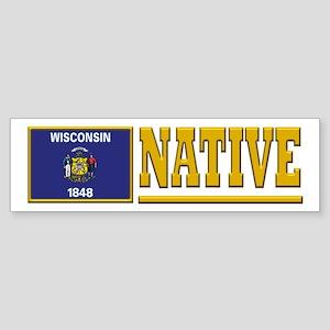 Wisconsin Native Bumpersticker