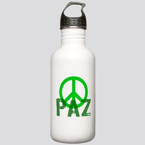 PAZ Peace en Espanol Stainless Water Bottle 1.0L