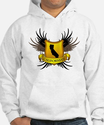 Black and Gold Crest - Calif Hoodie