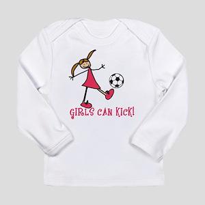 GIRLSSOCCERGIRLSCANKICK Long Sleeve T-Shirt