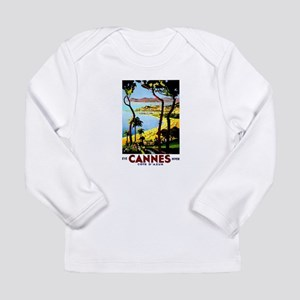 Cannes France Luggage Long Sleeve Infant T-Shirt