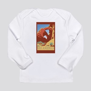 travel stickers Long Sleeve T-Shirt