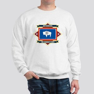 Wyoming Flag Sweatshirt