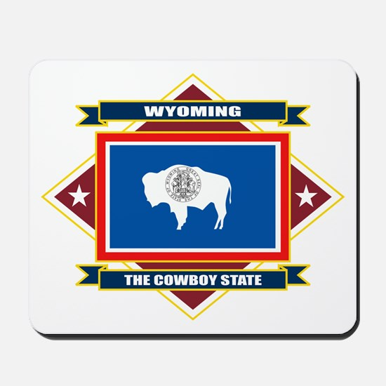 Wyoming Flag Mousepad