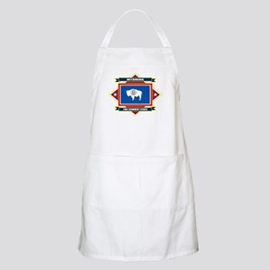 Wyoming Flag Apron