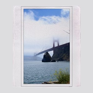 Golden Gate Bridge SF Throw Blanket