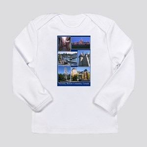 Victoria BC Canada Long Sleeve Infant T-Shirt