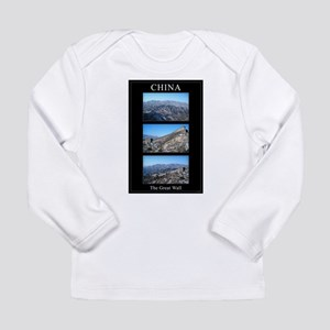 The Great Wall of China Long Sleeve Infant T-Shirt