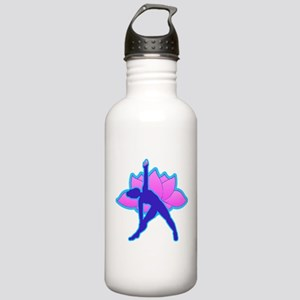 Yoga Triangle w Lotus Stainless Water Bottle 1.0L