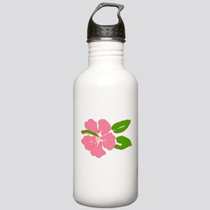 Big Beautiful Hibiscus Stainless Water Bottle 1.0L