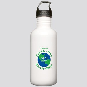 Earth Day Birthday Stainless Water Bottle 1.0L