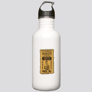 Vintage Houdini Poster Stainless Water Bottle 1.0L