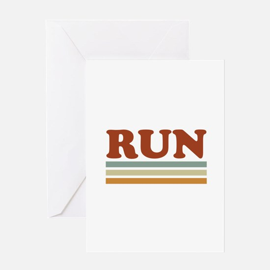 Unique Running 13.1 Greeting Card