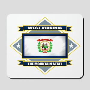 West Virginia Flag Mousepad