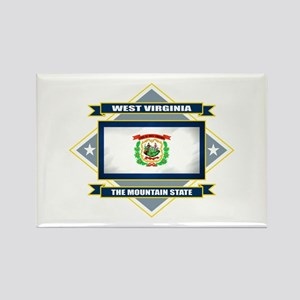 West Virginia Flag Rectangle Magnet