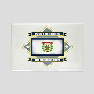 West Virginia Flag Rectangle Magnet