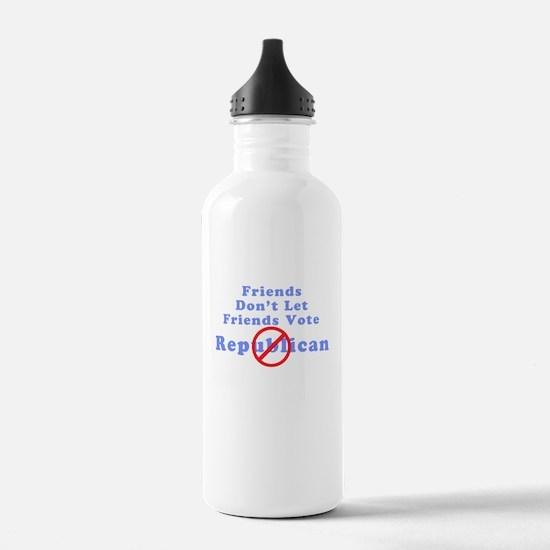 Friends Don't Let Friends Water Bottle