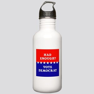 Had Enough?Vote Democr Stainless Water Bottle 1.0L