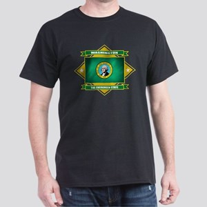 Washington Flag Dark T-Shirt