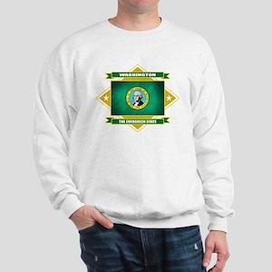 Washington Flag Sweatshirt