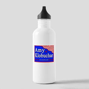 MN Amy Klobuchar US Senate Stainless Water Bottle