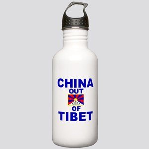 China Out of Tibet Stainless Water Bottle 1.0L