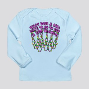 Sexy Mardi Gras Long Sleeve Infant T-Shirt