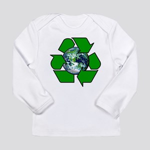 Recycle for Planet Earth Long Sleeve Infant T-Shir