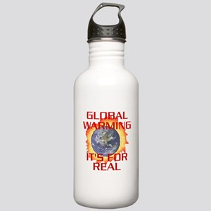 Global Warming Its for Real Stainless Water Bottle