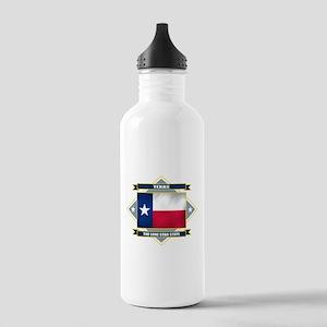 Texas Diamond Stainless Water Bottle 1.0L