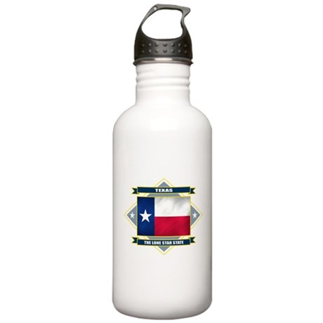 Texas Diamond Stainless Water Bottle 1.0L