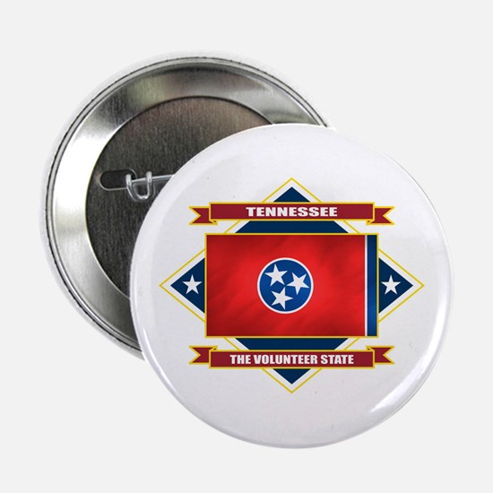 """Tennessee Flag 2.25"""" Button"""