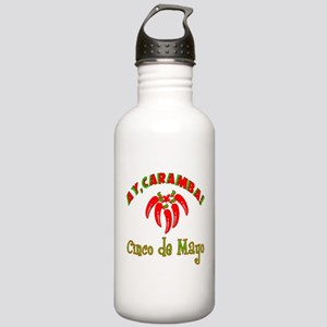 Ay Caramba Cinco de Ma Stainless Water Bottle 1.0L