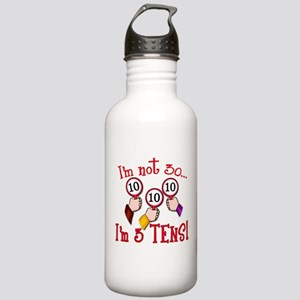 I'm Not 30 I'm 3 10s Stainless Water Bottle 1.0L