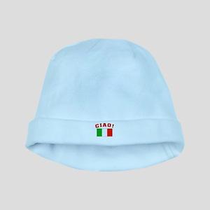 Ciao Italia Italy flag baby hat