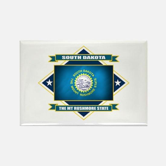 South Dakota Flag Rectangle Magnet