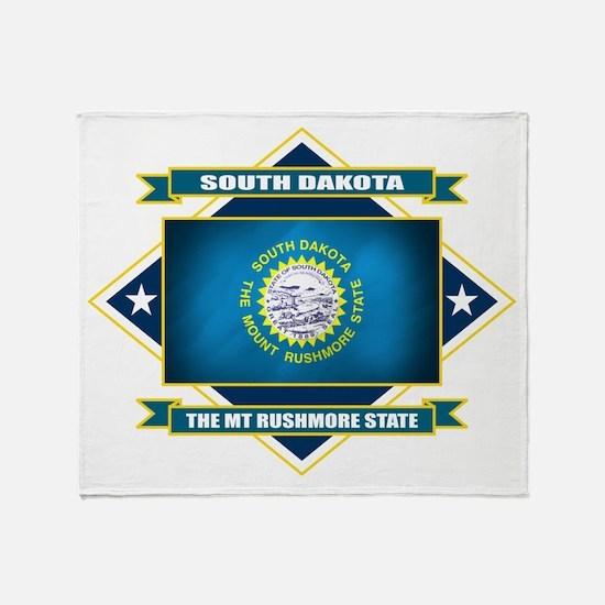 South Dakota Diamond Throw Blanket