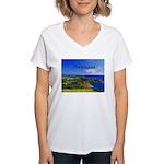 Antigua Women's V-Neck T-Shirt
